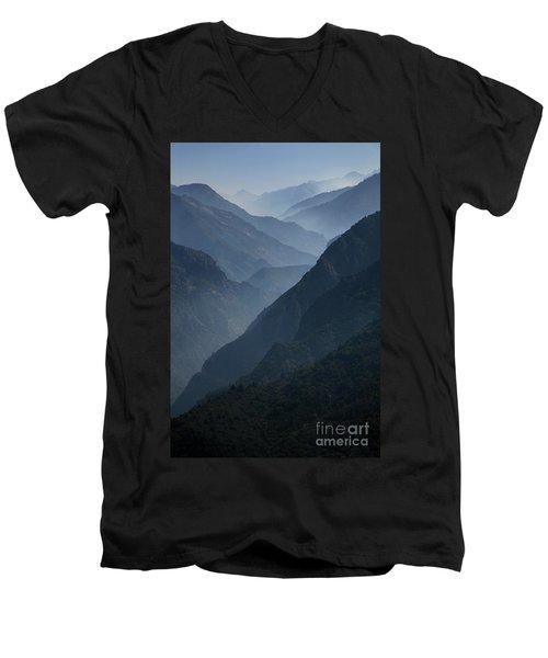 Misty Peaks Men's V-Neck T-Shirt