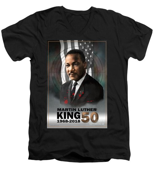 Mlk50 Men's V-Neck T-Shirt