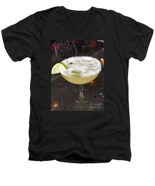 Mmmmm Margarita Men's V-Neck T-Shirt