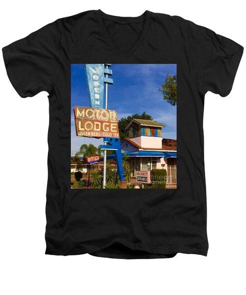 Modern In Lodi Men's V-Neck T-Shirt