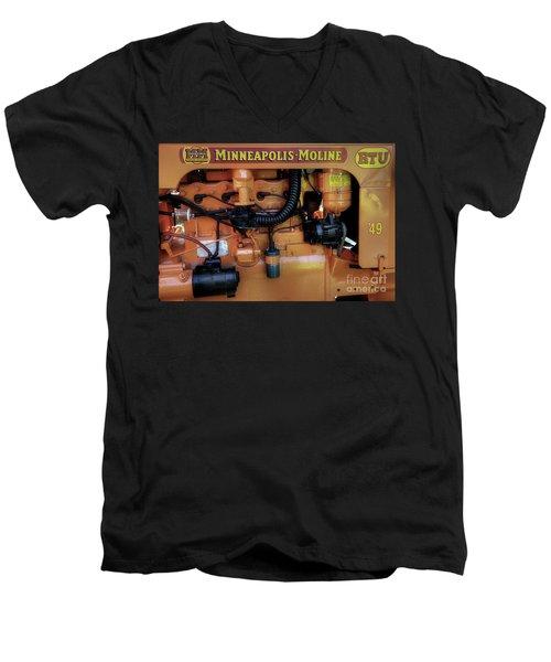 Moline Engine Men's V-Neck T-Shirt