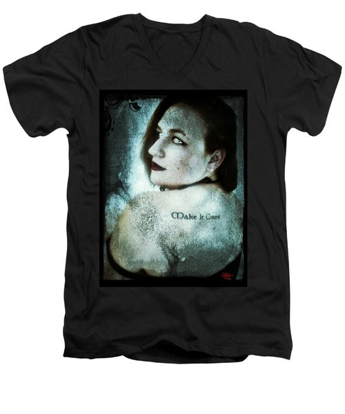 Mona 1 Men's V-Neck T-Shirt