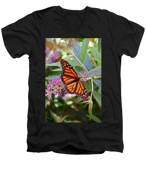 Monarch Butterfly 2 Men's V-Neck T-Shirt
