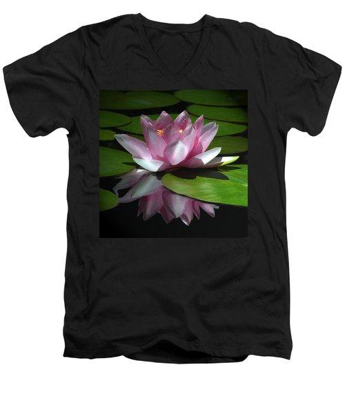 Monet's Muse Men's V-Neck T-Shirt by Marion Cullen