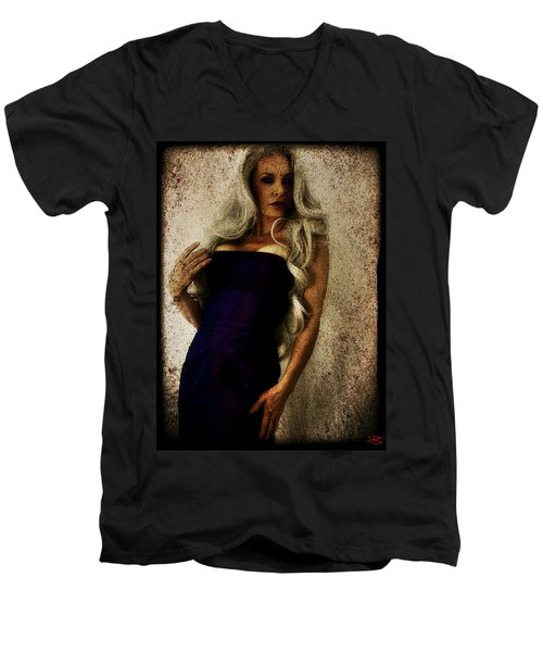 Monique 2 Men's V-Neck T-Shirt