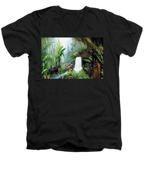 Monkeying Around Men's V-Neck T-Shirt