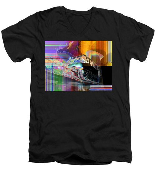 Monorail And Emp Men's V-Neck T-Shirt
