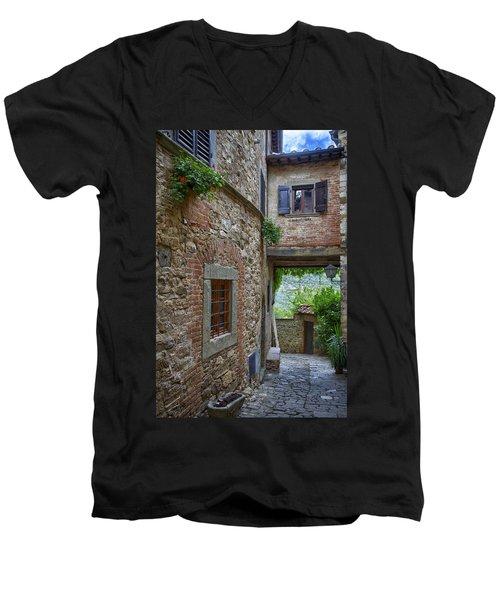 Montefioralle Tuscany 2 Men's V-Neck T-Shirt
