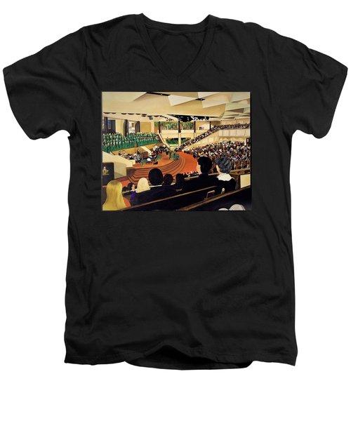 Montelle's View Men's V-Neck T-Shirt