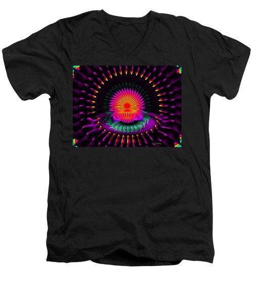 Montra Men's V-Neck T-Shirt by Robert Orinski