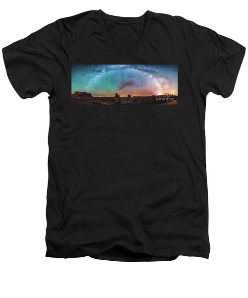 Monument Vally Dreams Men's V-Neck T-Shirt