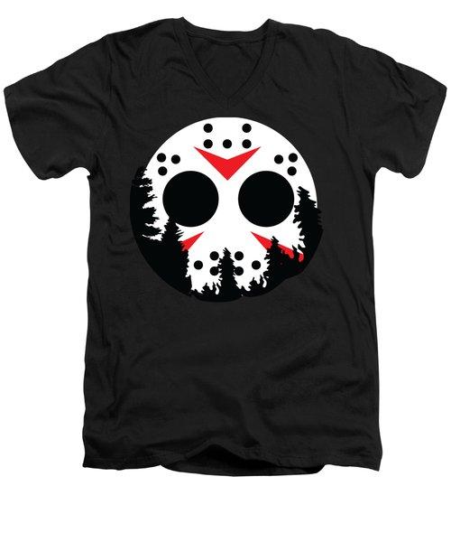 Moon Jason Men's V-Neck T-Shirt