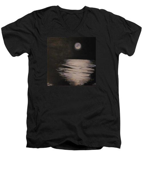 Moon Over The Wedge Men's V-Neck T-Shirt
