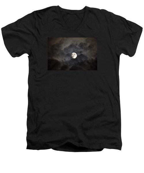 Moon Rise Men's V-Neck T-Shirt