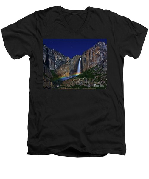 Moonbow Men's V-Neck T-Shirt
