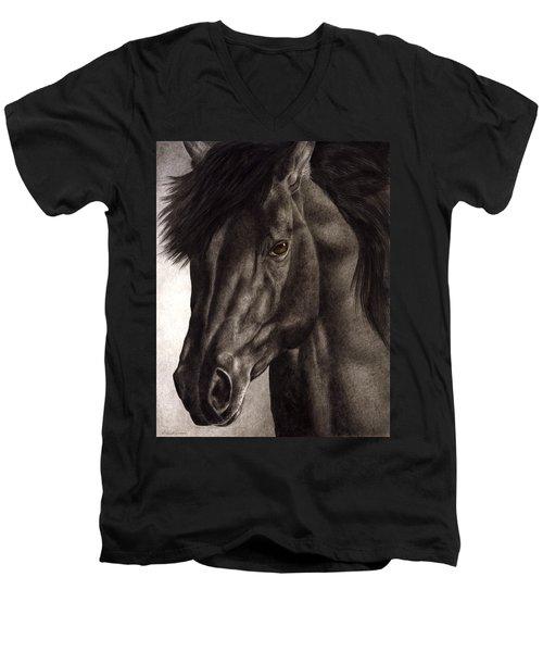 Moondark Men's V-Neck T-Shirt
