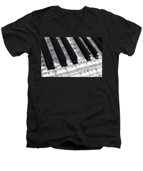 Moonlight Sonata Men's V-Neck T-Shirt