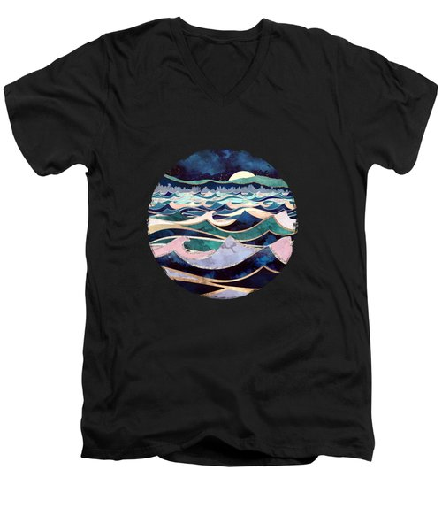 Moonlit Ocean Men's V-Neck T-Shirt