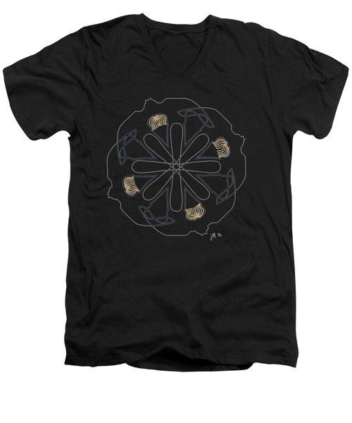 Mop Top - Dark T-shirt Men's V-Neck T-Shirt