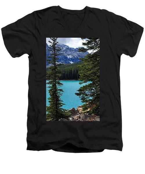 Moraine Lake 3 Men's V-Neck T-Shirt