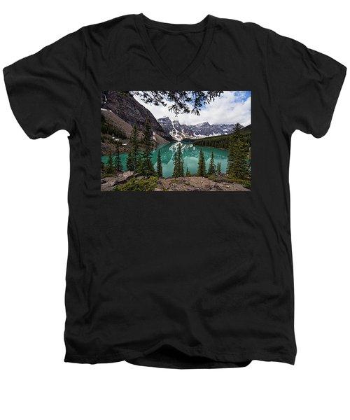 Moraine Lake Men's V-Neck T-Shirt