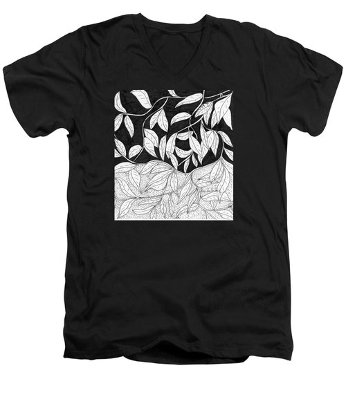 More Leaves Men's V-Neck T-Shirt