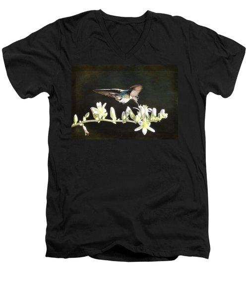 Morning Nectar Flyby  Men's V-Neck T-Shirt