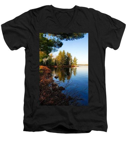 Morning On Chad Lake 4 Men's V-Neck T-Shirt