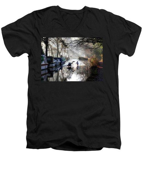 Morning Practice Men's V-Neck T-Shirt