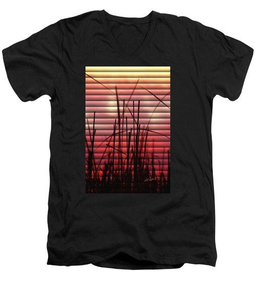 Morning Reeds Men's V-Neck T-Shirt