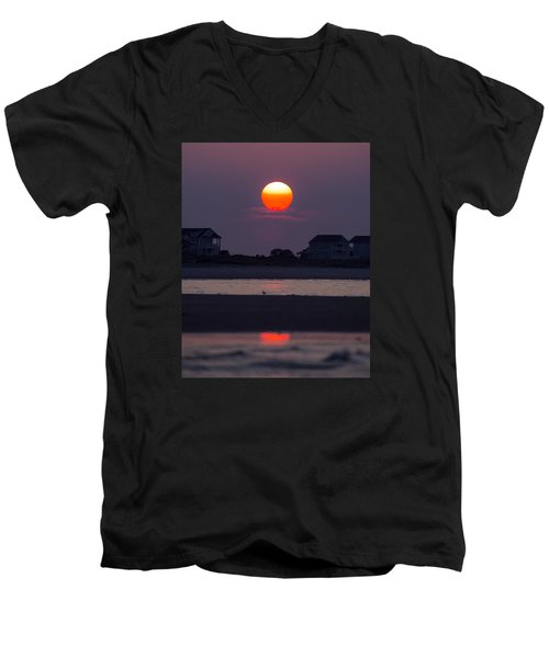 Morning Sun Men's V-Neck T-Shirt