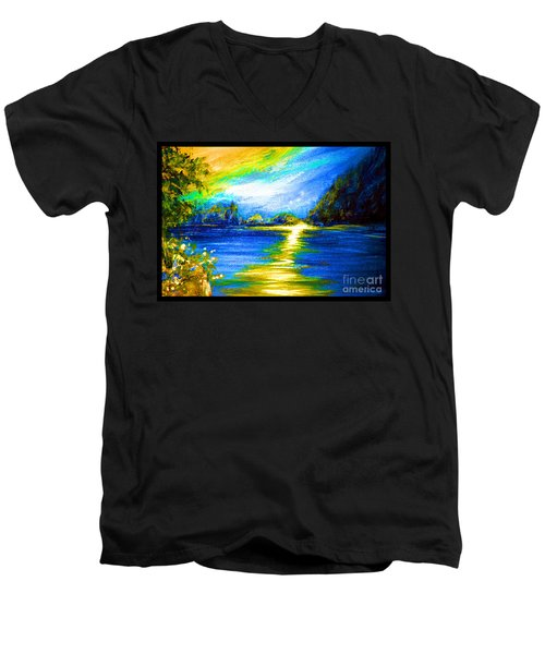 Morning Sunrise 9.6 Men's V-Neck T-Shirt