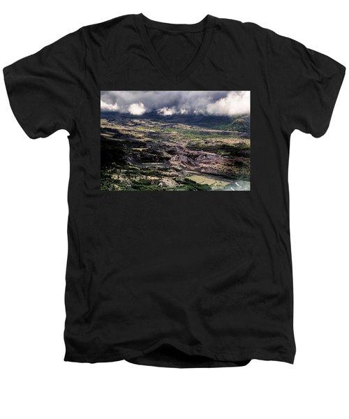 Morning Valley Men's V-Neck T-Shirt