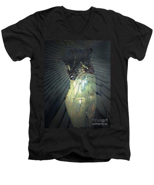 Morphing Men's V-Neck T-Shirt