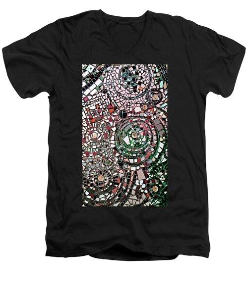 Mosaic No. 26-1 Men's V-Neck T-Shirt