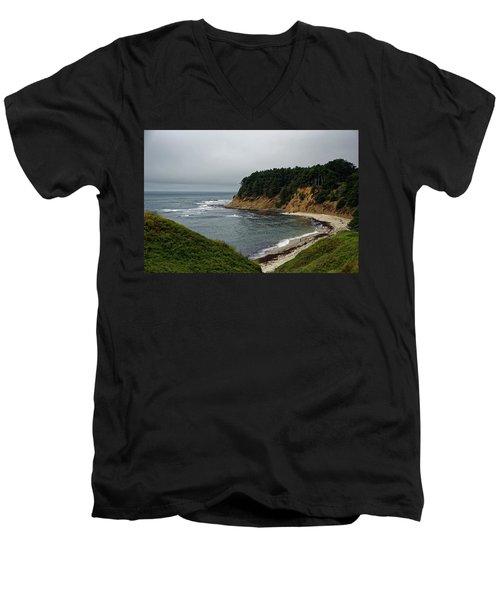 Moss Beach Men's V-Neck T-Shirt