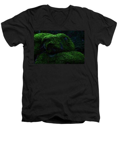 Moss Men's V-Neck T-Shirt