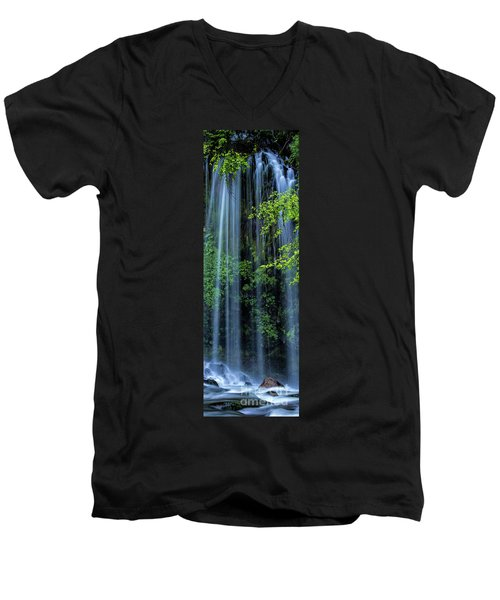 Mossbrae Falls  Men's V-Neck T-Shirt