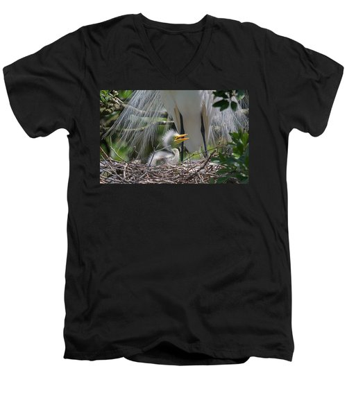 Mother Love Men's V-Neck T-Shirt
