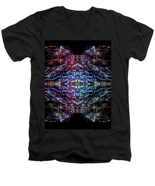 Mothership The Second Men's V-Neck T-Shirt by Samantha Thome