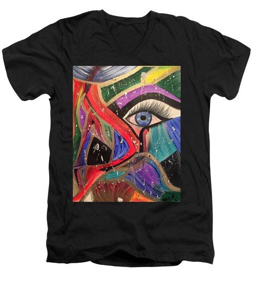 Motley Eye Men's V-Neck T-Shirt