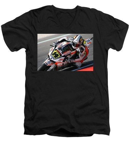 Motogp Men's V-Neck T-Shirt