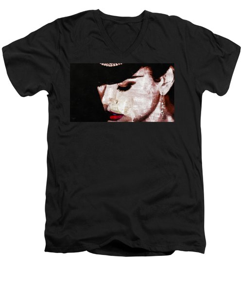 Moulin Rouge - Nicole Kidman Men's V-Neck T-Shirt