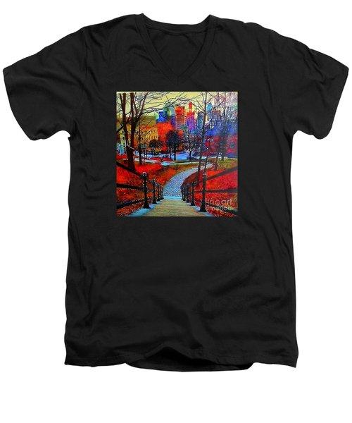 Mount Royal Peel's Exit Men's V-Neck T-Shirt