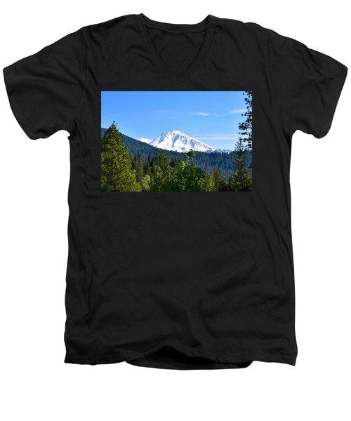 Mount Shasta Men's V-Neck T-Shirt