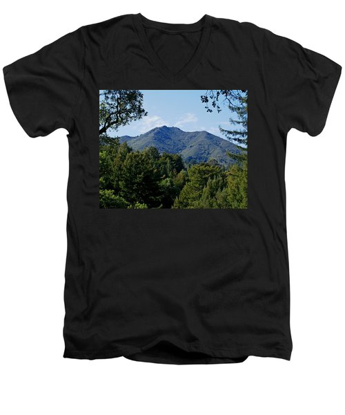Mount Tamalpais Men's V-Neck T-Shirt
