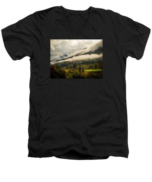 Mountain Mist Men's V-Neck T-Shirt
