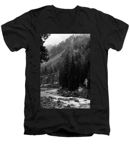 Mountain Stream Men's V-Neck T-Shirt