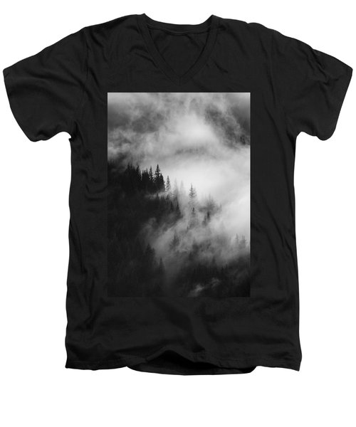 Mountain Whispers Men's V-Neck T-Shirt