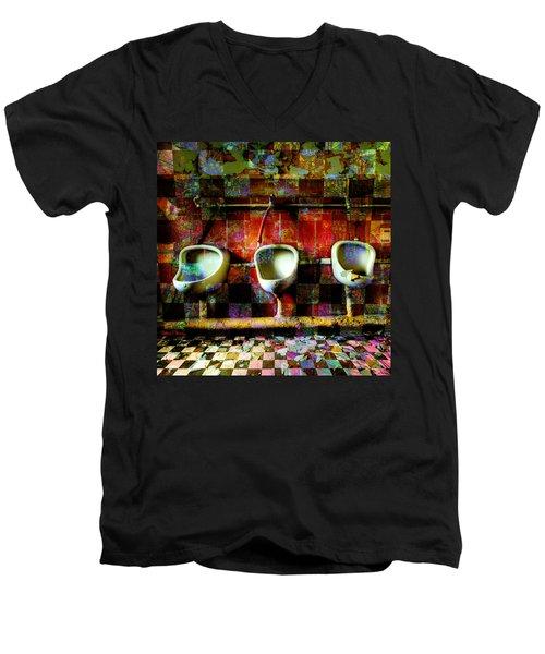 Move Over Marcel Men's V-Neck T-Shirt